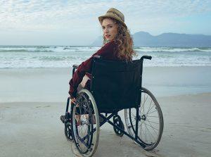 wheelchair woman